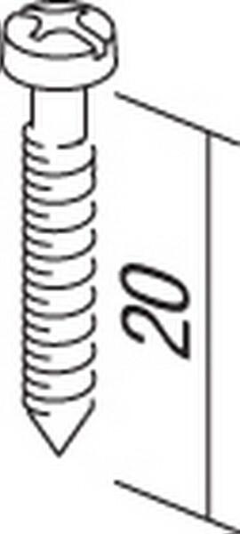 SET VIJAKA 3,5x20 100/1 - CM17