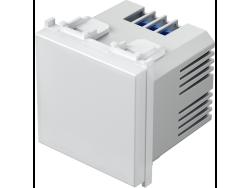 LED SVJETILJKA JEDNOBOJNA 250V~ 0,8W 2M RD - EM50RD
