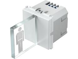 LED SVJETILJKA 3D DVOBOJNA 250V~ 2x0,4W 2M RG 90 - EM52RG90