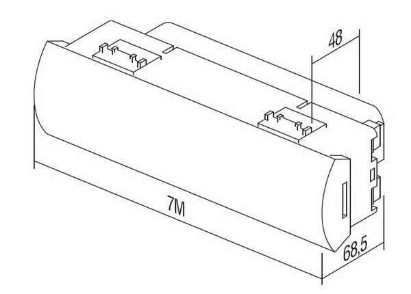 LED SVJETILJKA ZA SLUčAJ NUšDE 250V~ 1.5W, NiMh 6h 7M - EM55