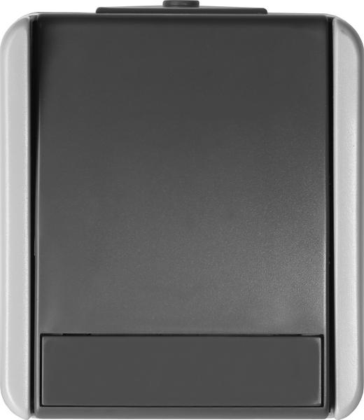 SKLOPKA DVOPOLNA IP44 10AX 250V~ GY - SF20GY