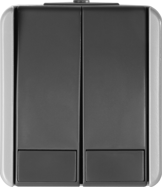 SKLOPKA SERIJSKA IP44 10AX 250V~ GY - SF50GY