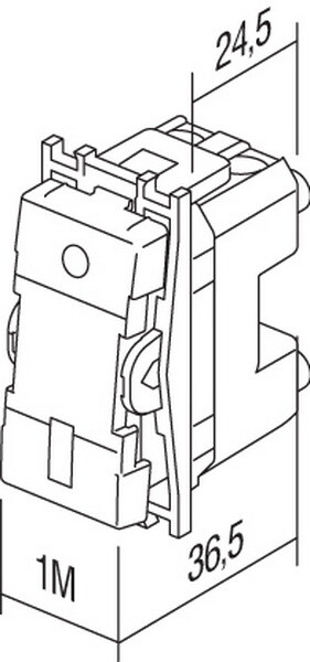 SKLOPKA IZMJENIčNA 16AX 250V~ 1M - SM60