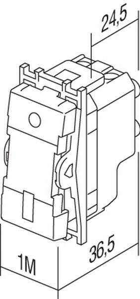 SKLOPKA KRIšNA 16AX 250V~ 1M - SM70