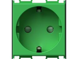 UTIčNICA šUKO+KS 2P+E 16A 250V~ 2M GR - VM10GR