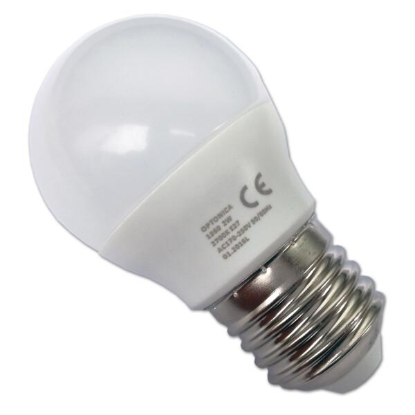 LED BULB E27 2W 220V 6000K