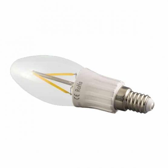 LED BULB E14 3W FILAMENT 6000K FROSTED