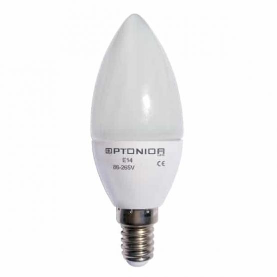 LED BULB E14 4W 220V CANDLE 6000K