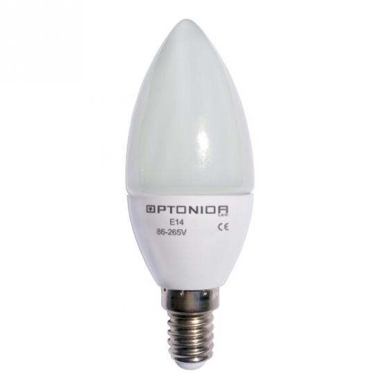 LED BULB E14 6W 220V  DIMMABLE 6000K