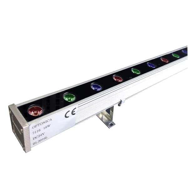 18W/24V LED WALL WASHER RGB 1M IP65 EPISTAR