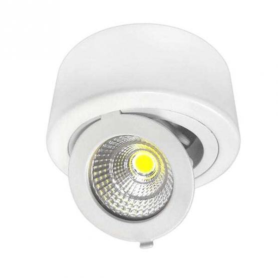 12W LED COB DOWNLIGHT ROUND ADJUSTABLE 2700K