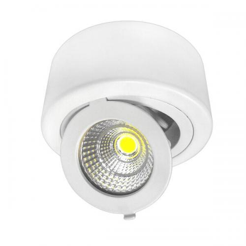 12W LED COB DOWNLIGHT ROUND ADJUSTABLE 6000K