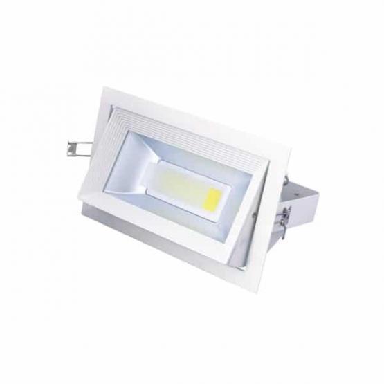 30W LED COB DOWNLIGHT RECTANGULAR 2700K