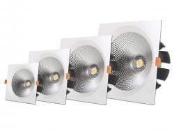 40W LED COB DOWNLIGHT SQUARE, NEUTRAL WHITE LIGHT