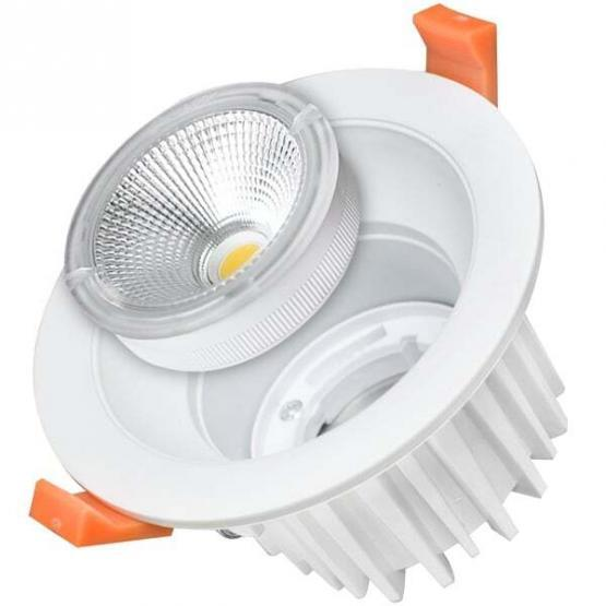 25W LED COB DOWNLIGHT ROUND EXCHANGEABLE 4500K