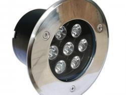 7W / 220V LED OUTDOOR BUILT-IN SPOTLIGHT 2700K