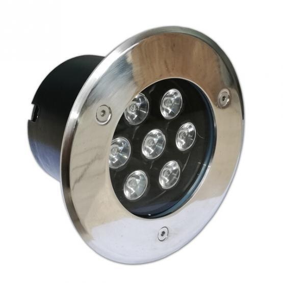 7W / 220V LED OUTDOOR BUILT-IN SPOTLIGHT 6000K