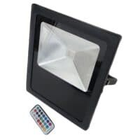 50W LED FLOODLIGHT RGB  IP65 WITH REMOTE CONTROL