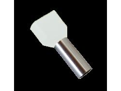 IZOLIRANI KABEL TERMINALI T?0508/BIJELI (100 kom. po pakiranju)