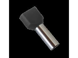 IZOLIRANI KABEL TERMINALI T?1508/CRNI (100 kom. po pakiranju)
