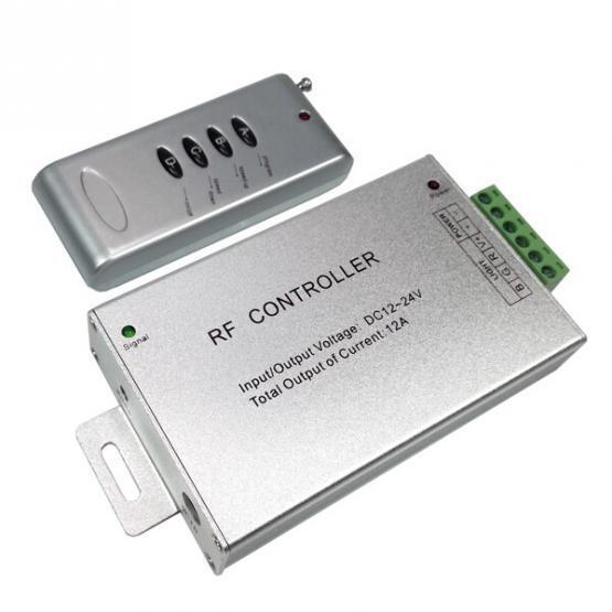 REMOTE CONTROL LED STRIP RGB  4 BUTTONS 12V/24V 12A