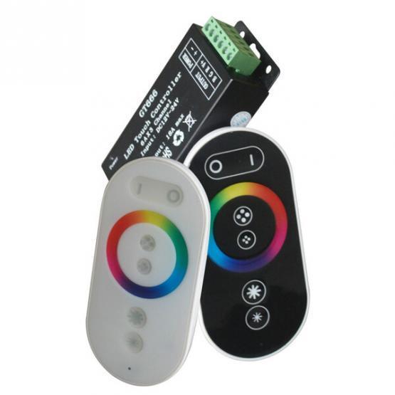 REMOTE CONTROL LED STRIP RGB MINI 288W 24A  TOUCH CONTROLLER BLACK