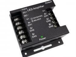 LED STRIP RGB AMPLIFIER,  IRON SHELL 12V/24V 3X8A