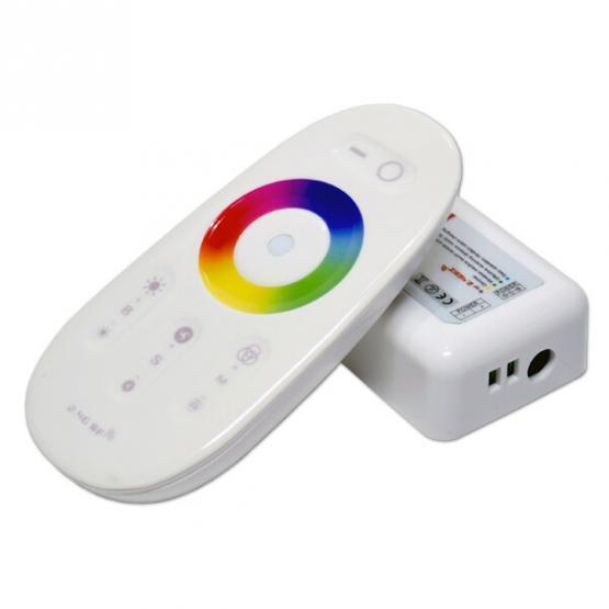 REMOTE CONTROL LED STRIP RGB-WH MINI 12-24V  TOUCH CONTROLLER WHITE