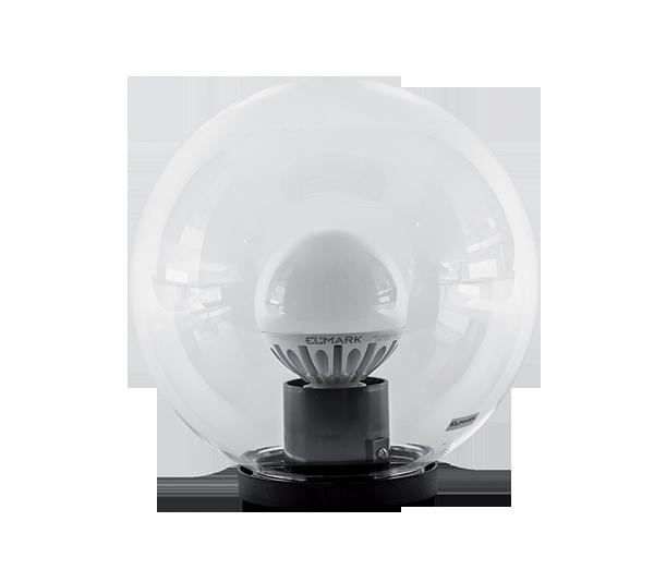 LED KUGLA PMMA PROZIRNA 400 SA LED ŽARULJOM G95 20W E27 230V 4000-4300K