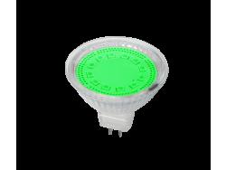 LED ŽARULJA MR16 SMD2835 3W G5,3 12V 3000K CRVENA