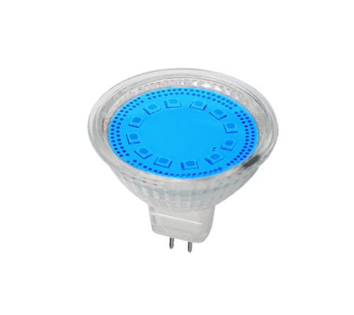 LED ŽARULJA MR16 SMD2835 3W G5,3 12V 3000K PLAVA