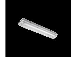 SVJETILJKA BELA SA LED CIJEVIMA(600MM) 2X10W 6200K-6500K IP65