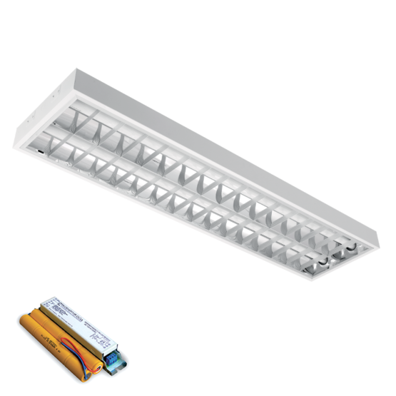LENA-V SA LED (1200MM) 2X18W 4000K BM 1195X295mm SA PANIK MODULOM