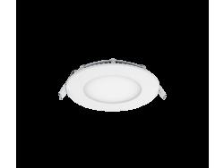 LED PANEL OKRUGLI 6W 4000K-4300K BIJELO ?110MM