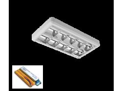 LENA-V SA LED (600MM) 2X9W 6400K OM 630X330mm SA PANIK MODULOM