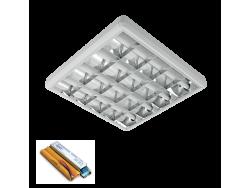 LENA-V SA LED (600MM) 4X9W 6400K OM 630X630mm SA PANIK MODULOM