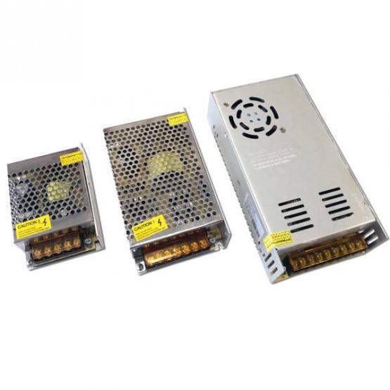 LED STRIP POWER SUPPLY 150W 12V 12.5A  METAL