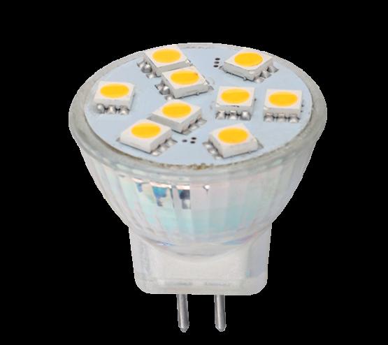 LED ŽARULJA LEDMR11 1,5W G4 12V AC/DC TOPLA BIJELA