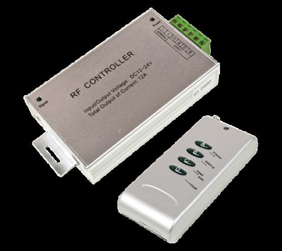 LEDRGB RF KONTROLER 12V 12A ZA LED TRAKU