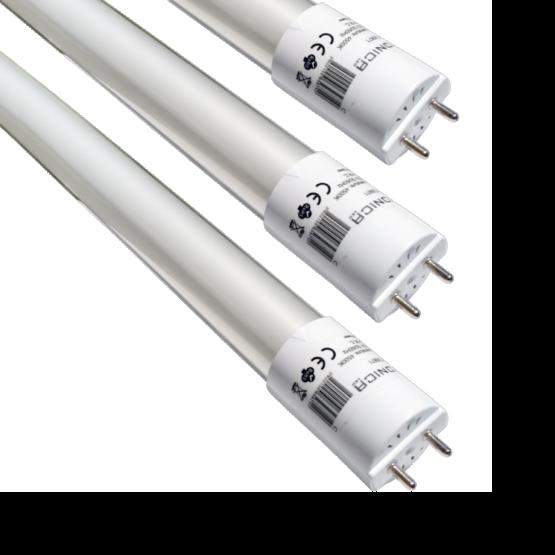 LED TUBE T8 GLASS 60 CM 9W/220V HIGH LINE 6000K