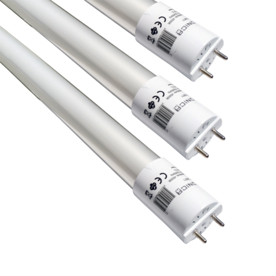 LED TUBE T8 GLASS 60 CM 9W/220V HIGH LINE 2700K