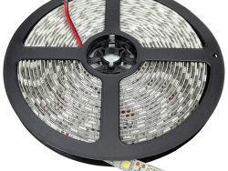 LED STRIP 5054 60L/M 24V 10MM 16W/M 1100LM/M WARM WHITE LIGHT IP65