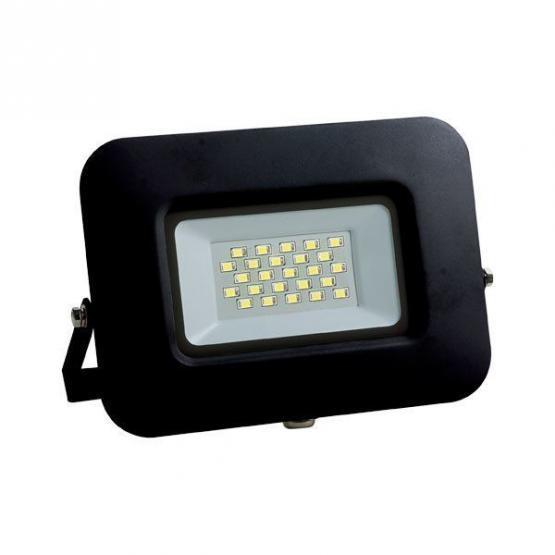 LED SMD Floodlight Black Epistar Chip Premium Line 5 Years Warranty 20W Neutral white