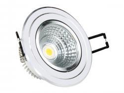 LED COB Downlight Round 38° 5W White light