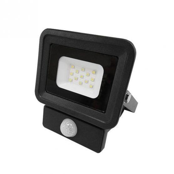 LED SMD Floodlight Black Classic Line2 With PIR Sensor 20W White light