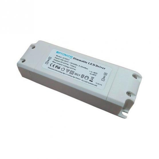 DIMMABLE DRIVER FOR LED PANEL 48W 1100mA 30-40Vdc