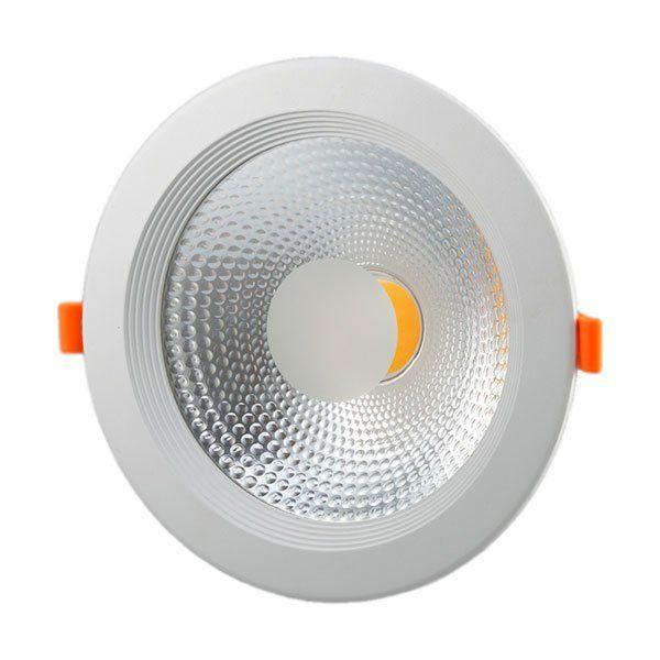 LED Spot Downlight COB TUV Pass 145° 30W White light