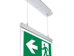 LED Hanging Emergency Exit Light 3 Hours Duration With PVC Legend 2w None