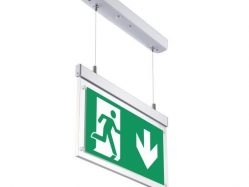 LED Hanging  Emergency Exit Light 3 Hours Emergency Duration 2w None