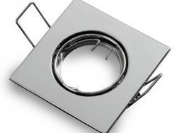 Square Ring Non-Adjustable GU5.3 2Pcs/Box None White light